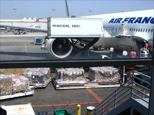 Internation Air Cargo at Los Angeles Airport